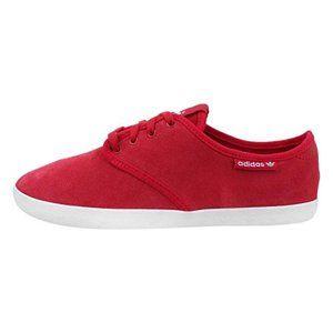 "Adidas ""Adria"" Red Suede Loafer NWOB- Sz. 8.5"